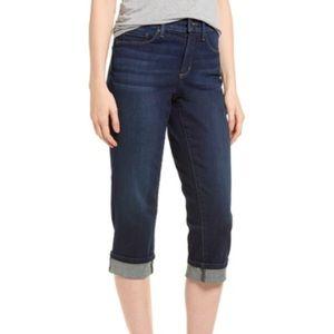 NWT NYDJ Marilyn Cropped Cuff Jeans